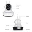 Image sur Caméra WIFI 1080P ONVIF P2P IP de sécurité sans fil IR avec vision nocturne HD de nuit