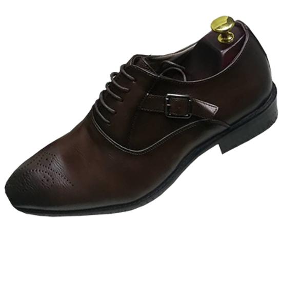 Image sur Chaussure en Cuir - Marron