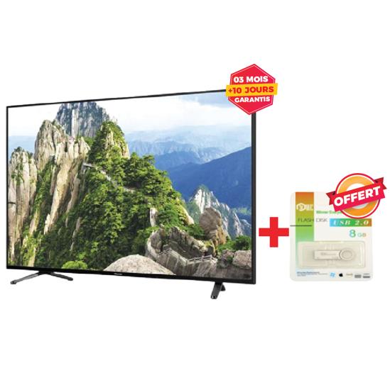 """Image sur TV LED INNOVA Numérique 32S2 - 32"""" - Décodeur et régulateur intégrés - Noir - 03 mois garantis"""