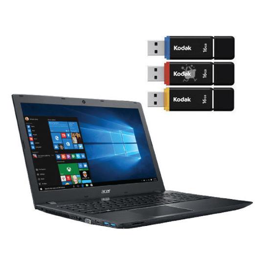 Image sur Laptop HP 15 - 15,6″ HD - Core i3-1005G1 - 4 Go Ram/ 1TB HDD - 41 Wh - Noir - 06 Mois garantis