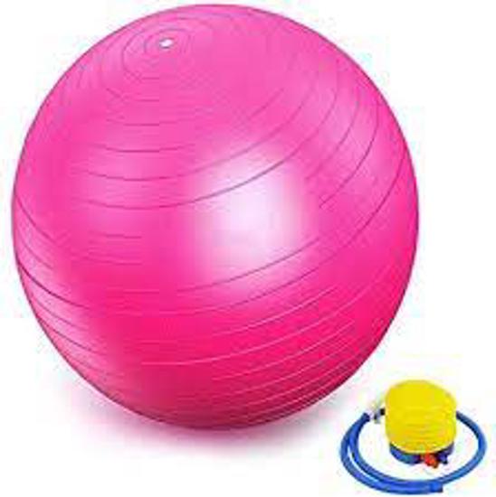 Image sur Ballon De Gymnastique - 65 cm - Rose