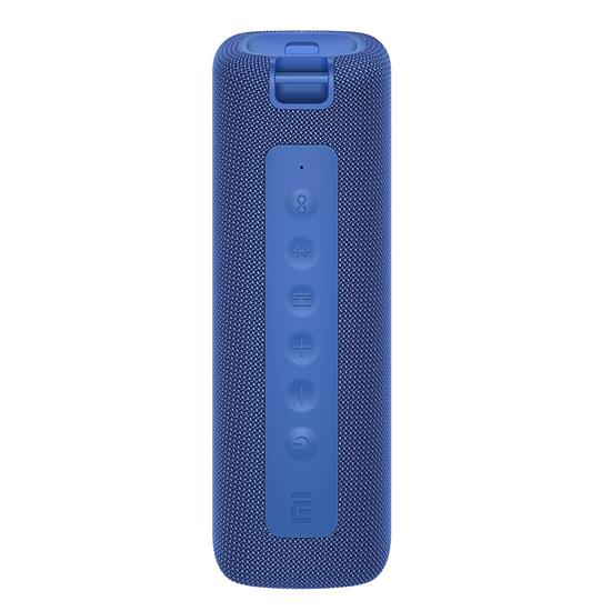 Image sur Haut-parleur Bluetooth portable MI (bleu) Haut-parleurs 16 W, mode double égaliseur, classé IPX7, jusqu'à 13 heures d'autonomie, mode TWS, charge de type C - 6 Mois