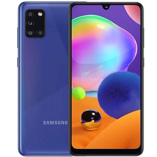 "Image sur Samsung Galaxy A31 - Dual Sim - 6.4"" - 48 Mpx - Capteur d'empreintes digitales - 128Go ROM / 4Go RAM - 5000mAh - Noir - 24 Mois Garantis"