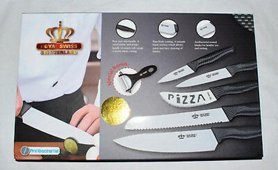 Image sur Jeu de couteaux de luxe 6 pièces ROYAL SWISS- 03 mois
