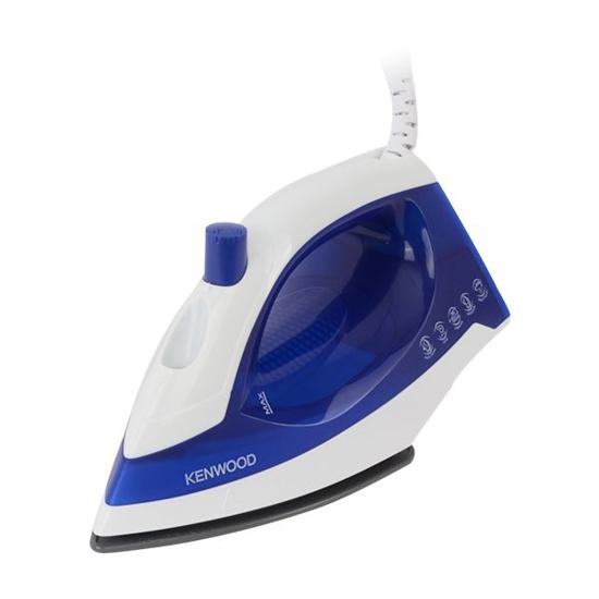 Image sur Fer à repasser-  Kenwood STP01 - 1100W - Bleu/Blanc - 3Mois Garantis