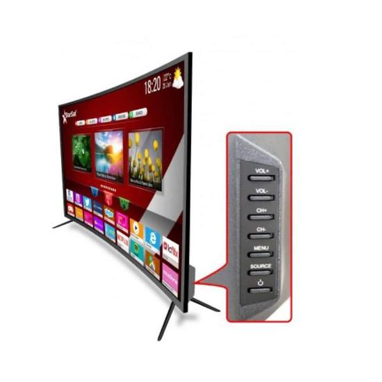 "SMART TV LED INCURVEE - STAR SAT- 39 "" - FULL HD - NOIR - HDMI - USB - GARANTIE 12 MOIS - IZIWAY CAMEROUN"