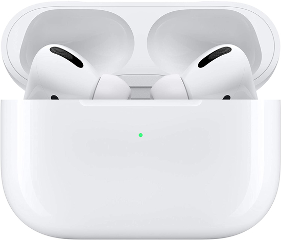 Image sur Apple AirPods Pro Wireless Charging Case Bluetooth Écouteurs intra-auriculaires intra-auriculaire blanc - 12 Mois