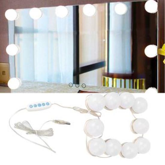 Image sur Ampoule à miroir Vanity LED Mirror Lights Kit10 ampoules d'éclairage
