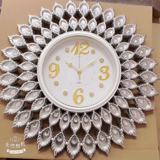 Image sur Horloge Murale Décorative - Blanche