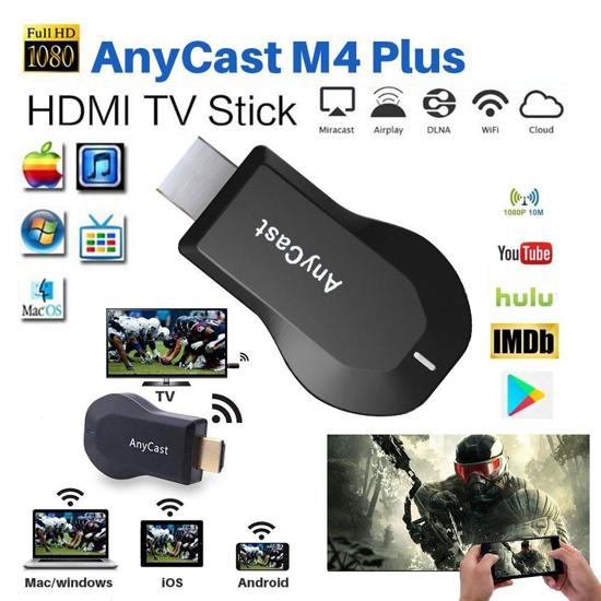 Image sur Dongle tv affichage video sans fil anycast plus miracast hdmi