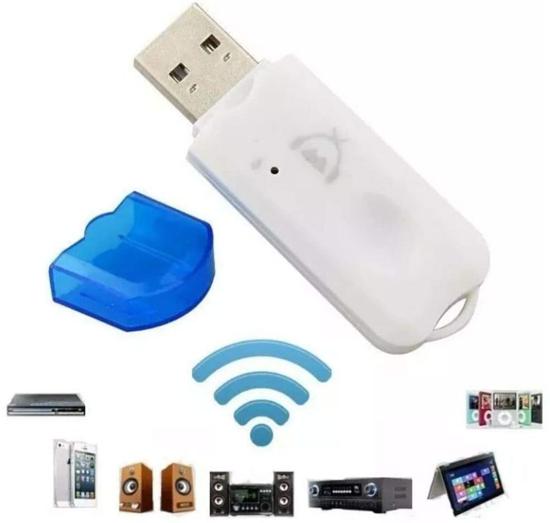 Image sur usb wireless dongle recepteur bluetooth sans fil