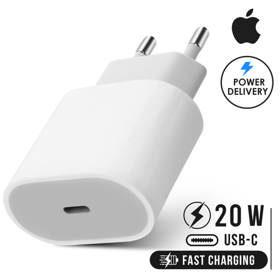 Image sur Double fast Chargeur COMPLET 20W Ultra Rapide CABLE TYPE C POUR IPHONE 11 A 13 PRO MAX